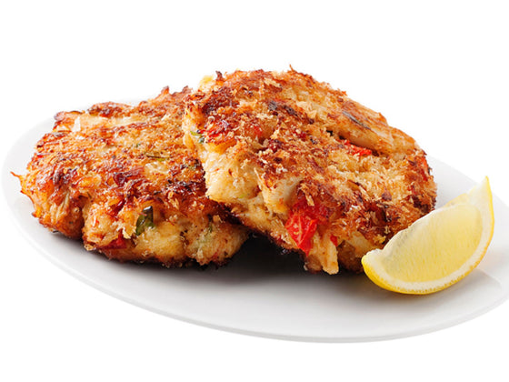Fried Jumbo Lump Crab Cakes