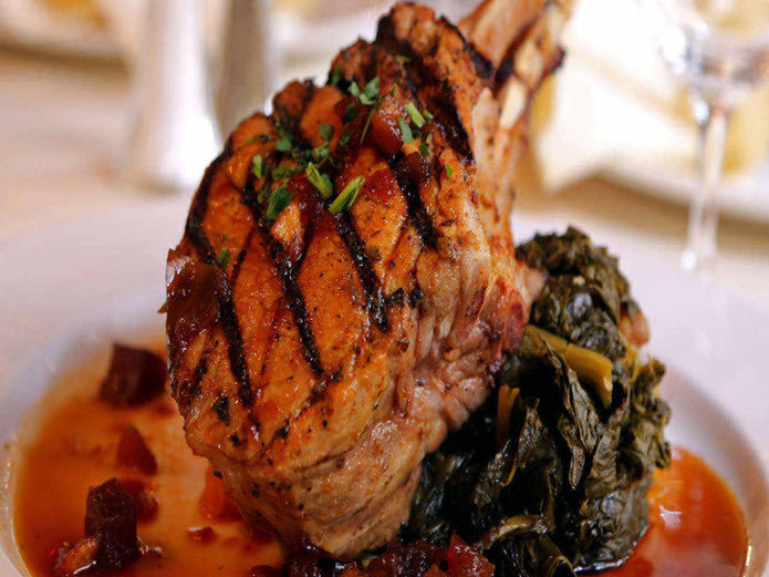 Muriel's Double Cut Pork Chop