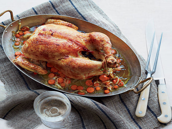 Family Style: Whole Roasted Herbed Chicken