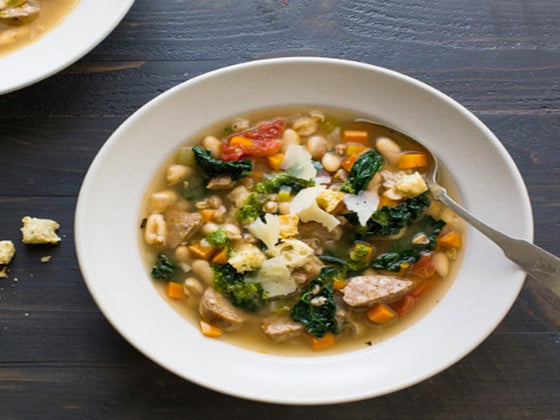 Tuscan Cannellini Bean Soup