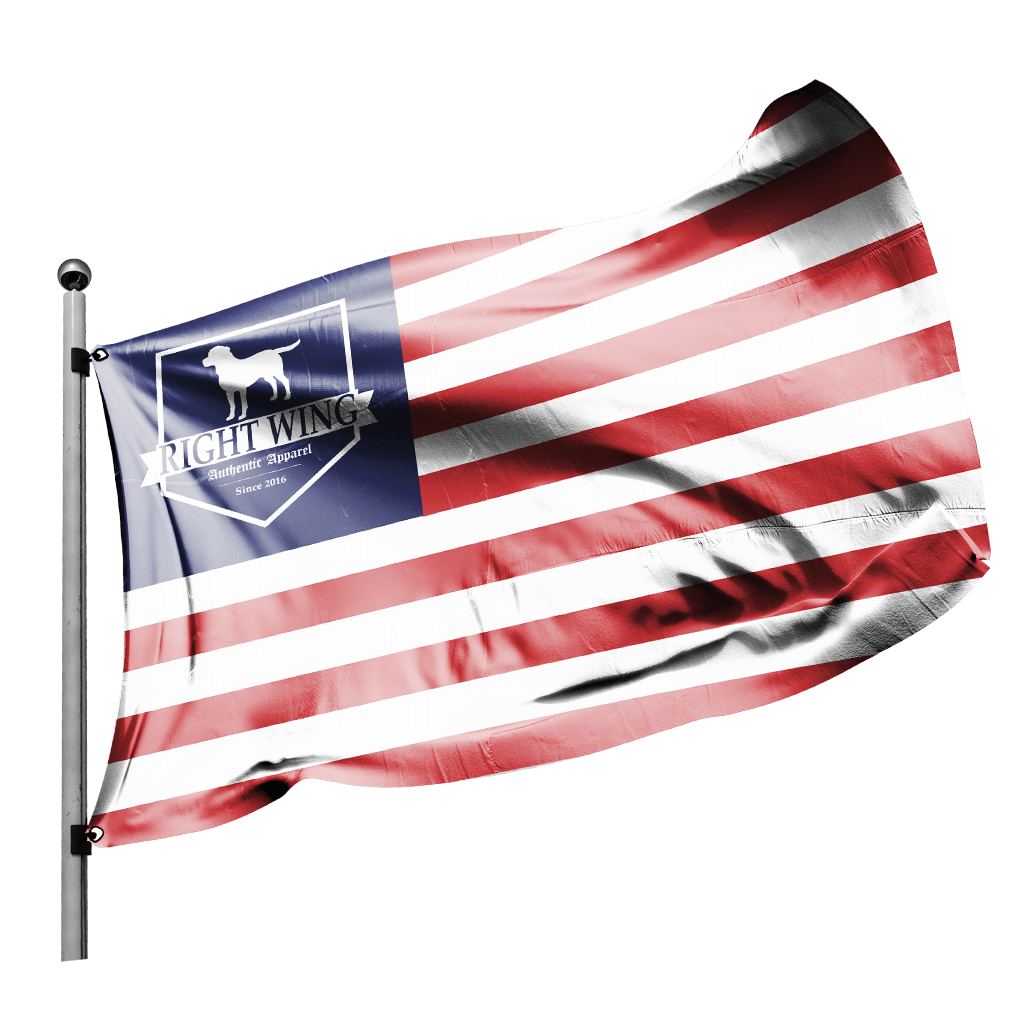 Right Wing USA Flag