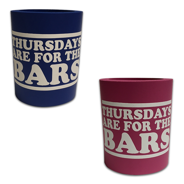 Fat Foam Thursdays Are For The Bars Koozie - 2 Pack
