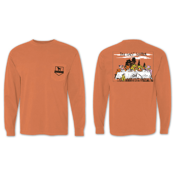 The Last Supper Long Sleeve Pocket Tee - Melon