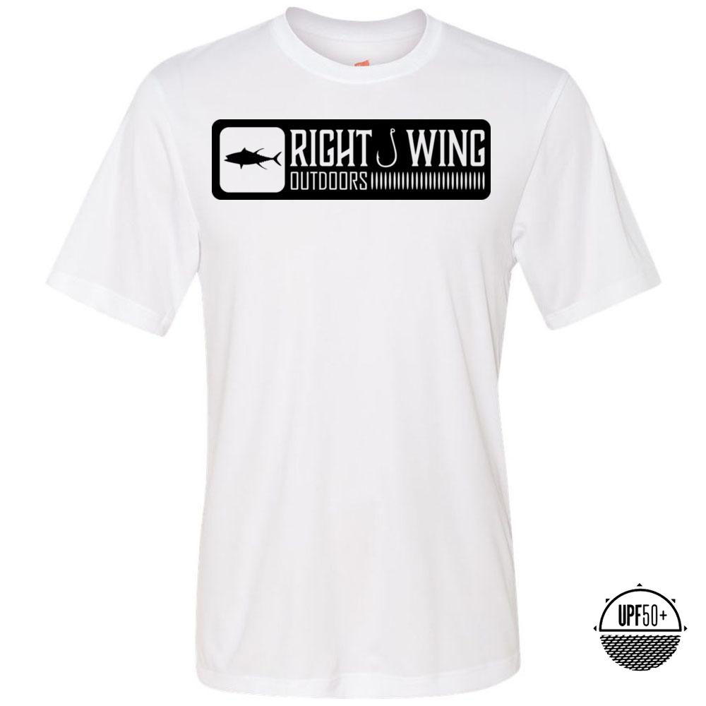 Right Wing Outdoors Ahi Sun Shirt - White/Black