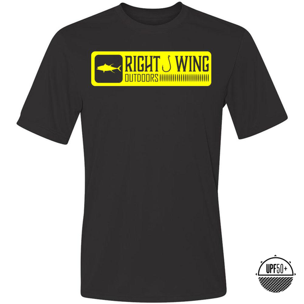 Right Wing Outdoors Ahi Sun Shirt - Black
