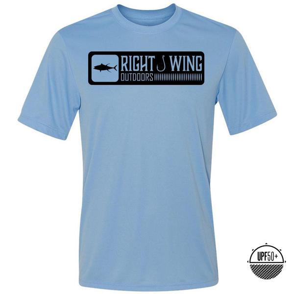Right Wing Outdoors Ahi Sun Shirt - Light Blue