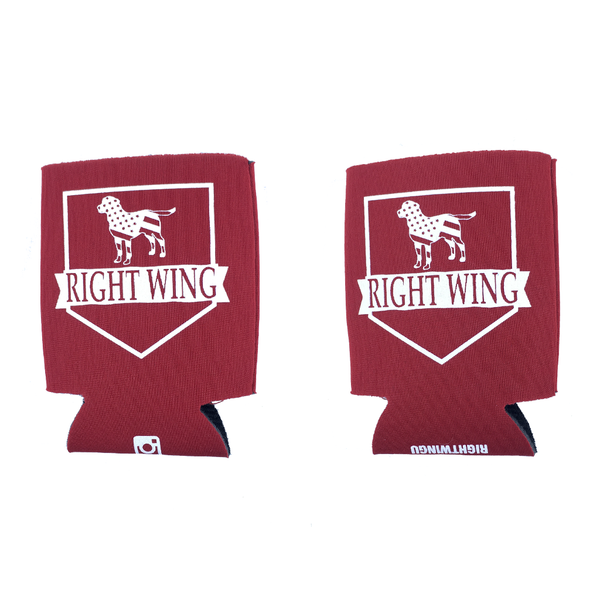 Right Wing University Koozie (Red)