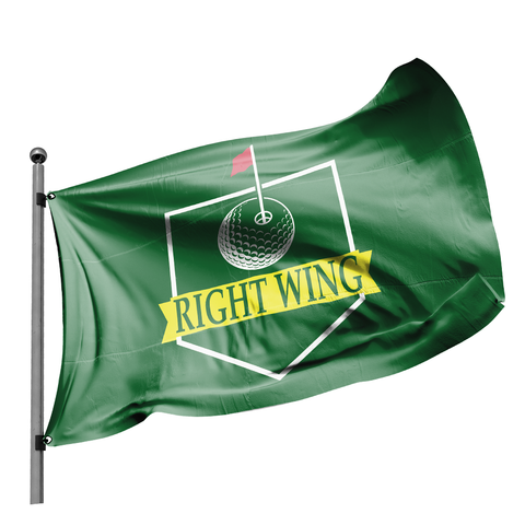 Right Wing Masters Green Flag