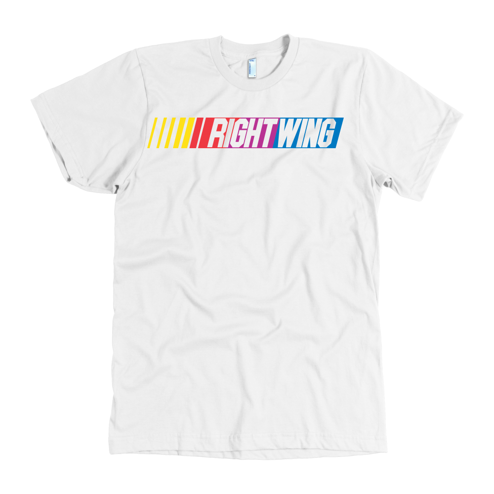 Right Wing Speed Tee - White
