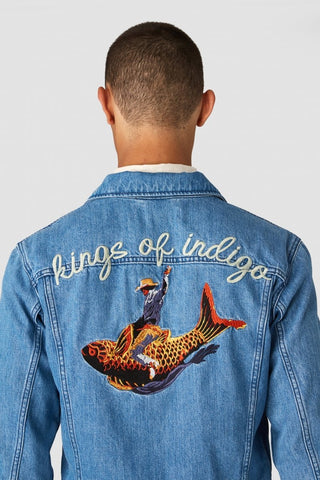 Kings Of Indigo Till Jacket - Working Title Norwich