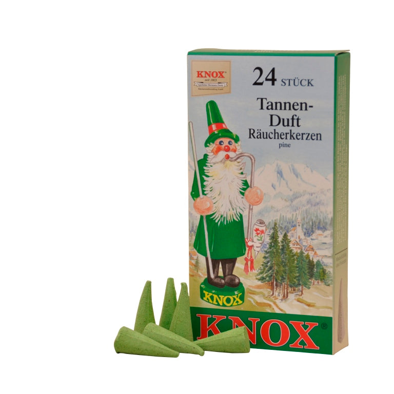 Knox 24 Incense Cones - Pine