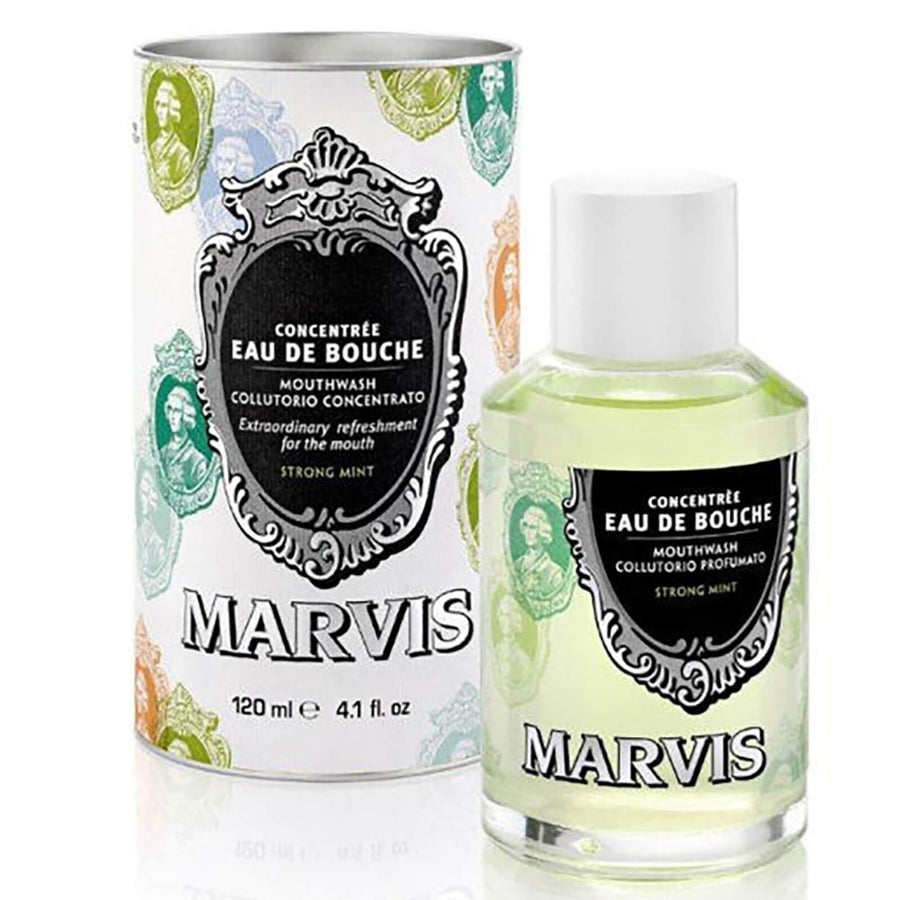 Marvis Concentrated Eau De Bouche Mouthwash (120ML) , Mouth Wash, Marvis, Working Title Clothing