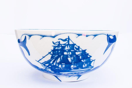 By Mutti Blue Marlin 30CM Bowl , Bowl, By Mutti, Working Title