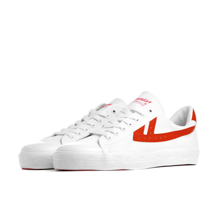 Warrior Shanghai White & Red Iconic Chinese Basketball Classic Trainer , Trainers, Warrior Shanghai, Working Title