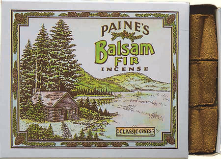 Paines 32 Traditional Balsam Fir Incense Cones & Holder , Incense, Paine, Working Title