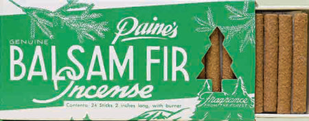 Paines 24 Balsam Fir Sticks & Holder , Incense, Paine, Working Title