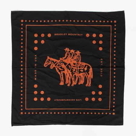 Bradley Mountain Limited Edition Japanese Selvedge Wrangler Bandana , Bandana, Bradley Mountain, Working Title