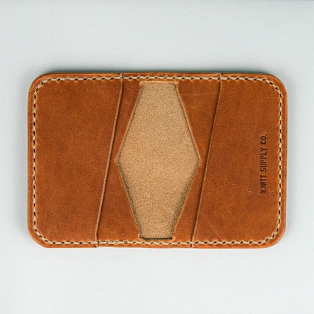 Kjøtt Supply Co. 4 Pocket Bifold Horween Dublin Natural Thread , Wallets, Kjøtt Supply Co., Working Title