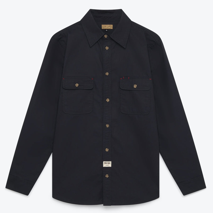 Dubblewear Milton Shirt - Midnight