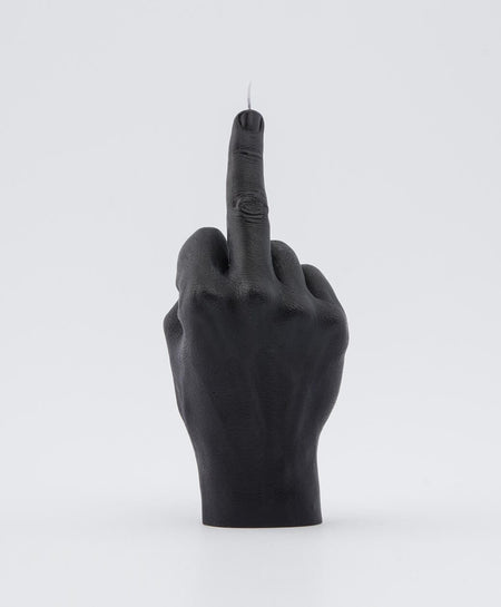 Candle Hand FCUK You Black Hand Gesture candle , Candles, Candle Hand, Working Title