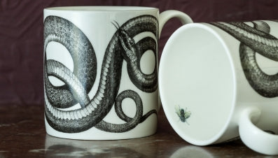 RE-found Baroque Snake Mug , Mugs, RE-found, Working Title