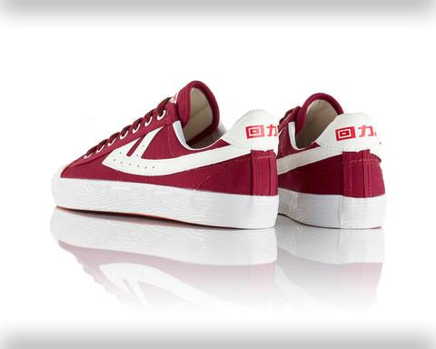 Warrior Shanghai All Burgundy and White Iconic Chinese Basketball Classic Trainer , Trainers, Warrior Shanghai, Working Title