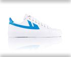 Warrior Shanghai White & Blue Iconic Chinese Basketball Classic Trainer , Trainers, Warrior Shanghai, Working Title