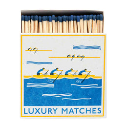 Archivist Premium Luxury Art Matches Rowers , Matches, Archivist, Working Title