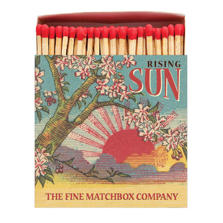 Archivist Premium Luxury Art Matches Rising Sun , Matches, Archivist, Working Title