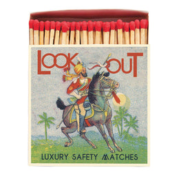 Archivist Premium Luxury Art Matches Look Out , Matches, Archivist, Working Title