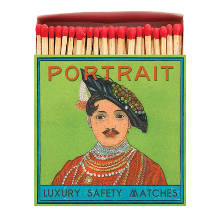 Archivist Premium Luxury Art Matches Portrait , Matches, Archivist, Working Title