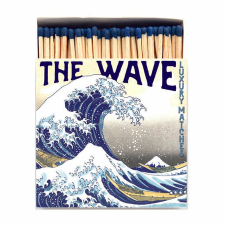 Archivist Premium Luxury Art Matches The Wave , Matches, Archivist, Working Title Clothing