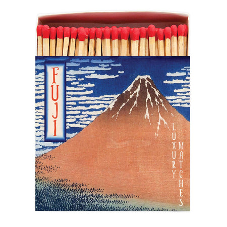 Archivist Premium Luxury Art Matches FUJI Mountain , Matches, Archivist, Working Title