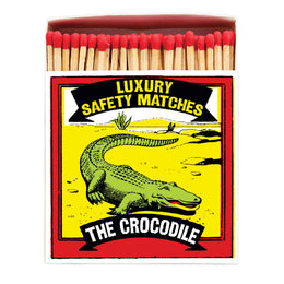 Archivist Premium Luxury Art Matches The Crocodile , Matches, Archivist, Working Title