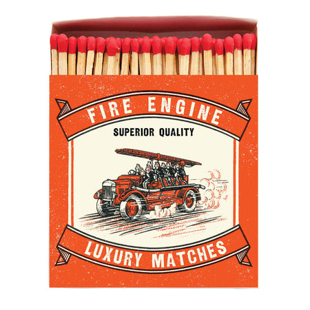 Archivist Premium Luxury Art Matches Fire Engine , Matches, Archivist, Working Title