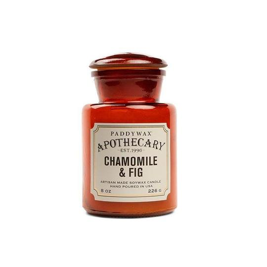 Paddywax Apothecary 8oz Glass Candle - Chamomile & Fig