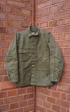 Kerbside Olive Canvas Chore Jacket , Jackets, Kerbside, Working Title