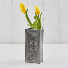 Stolen Form Brick Vase - Grey , Vases, Stolen Form, Working Title