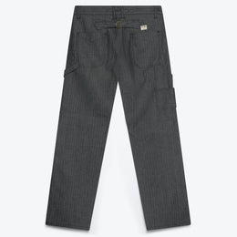 Dubblewear Avignon Carpenter Pant Trouser Herringbone Navy