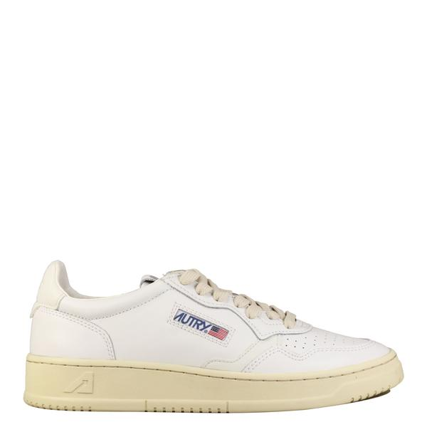 Autry Action Shoes Sneakers Low Ride White All Leather , Trainers, Autry, Working Title