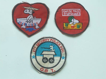 Snoopy US/Vietnam War Patches , Patch, Art + Object, Working Title