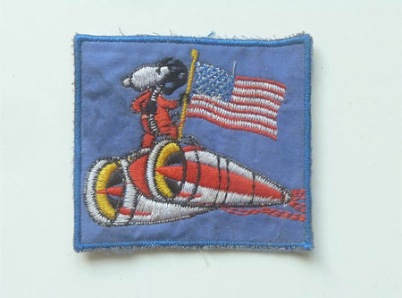 Snoopy Vietnam/US War Patch , Patch, Art + Object, Working Title
