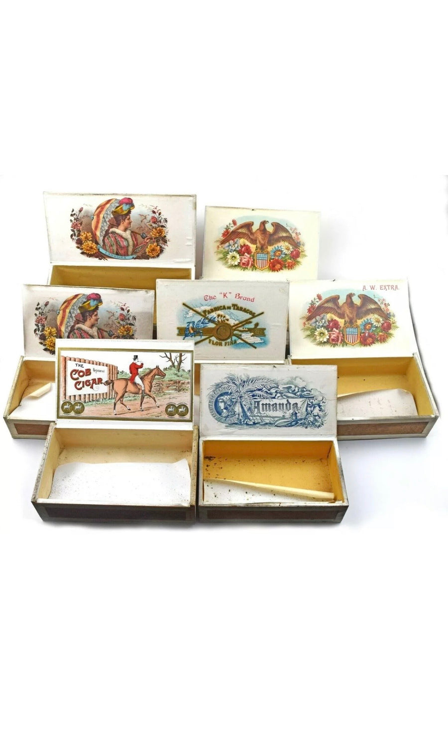 Vintage Cigar Boxes , Cigar Boxes, Art + Object, Working Title