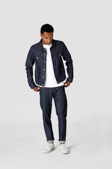 Kings Of Indigo Daniel Selvedge Dry Re-Gen Jean , Jeans, Kings Of Indigo, Working Title