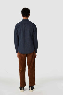 Kings Of Indigo Enda Striped Hickory Denim Shirt