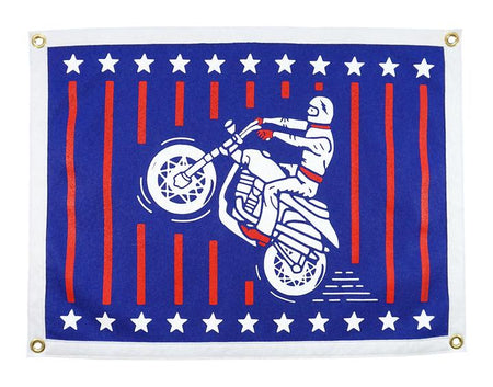Daredevil Oxford Pennant Camp Flag Wall Hanging , Flag, Oxford Pennant, Working Title Clothing