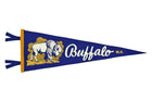 Oxford Pennant Retro Buffalo Wool Felt Pennant
