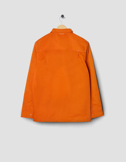 M.C.Overalls Poly Cotton Snap Shirt - Orange , Long Sleeve Shirts, M.C.Overalls, Working Title