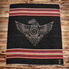 Pike Brothers 1969 Denakatee Depakatè Faded Black Wool Blanket , Blanket, Pike Brothers, Working Title