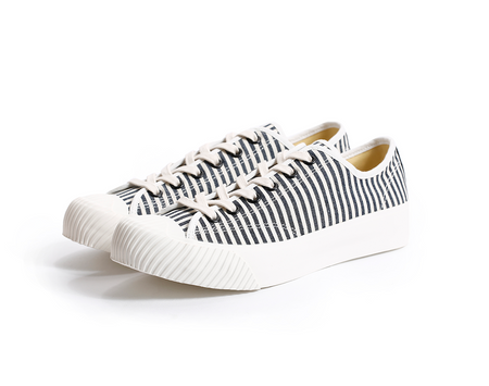 Dublinware Cork Hickory Stripe Vulcanised Sneakers , Trainers, Dublinware, Working Title